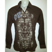 *DJ* Long Sleeve Shirt (Material : Cotton)