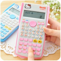 Bazar! Kalkulator Scientific Hello Kitty Sanrio Kt-350Ms Vc |QQI:5600