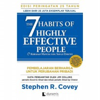 PROMO The 7 Habits of Highly Effective People :25 years . Stephen R. Covey