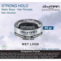 Dayman Hair Pomade - Strong Hold 80 Gr