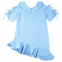 KIDS ICON - Blouse Anak Perempuan Curly with Double Layer and Under Tilted detail - LYD00700190