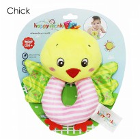 Happy Monkey Rattle Donat Motif Chick
