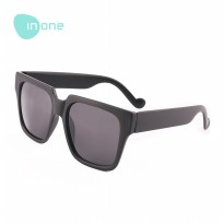 Inone Large Square Sunglasses Kacamata Hitam Fashion Pria Wanita Frame Model Tren Simple