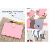 Anti Skimming Passport Wallet (Dompet passport banyak sekat)