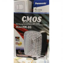 Murah! Cmos Rechargeable Emergency Led Lamp Hk-86 |Spf:1804