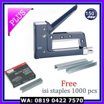 Staples / Stapler SDI Gun Tacker 1240B / Staples Tembak / Staple Gun
