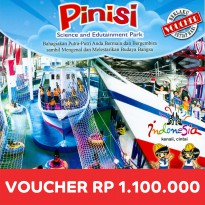 [Voucher Buku] Pinisi Science And Edutainment Park - Senilai Rp 1.100.000