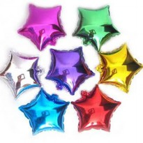 Balon Foil Bintang/Star Mini Ultah