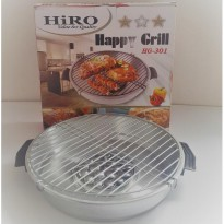 Bazar! Hiro Happy Grill Hg 301/Magic Fancy Grill/Panggangan /Magic Roaster |Spf:2234