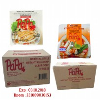 PAPA Kua Chap Clear Soup & Thai Tom Yum 50gr 1Karton/ 30Pcs