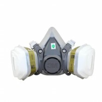 3M Half Facepiece Respirator Half Gas Mask Medium Masker Gas