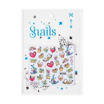 Snails Kids Sticker - Story Telling