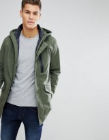 United Colors Of Benetton Two In One Parka With Removable Padded Vest In Khaki