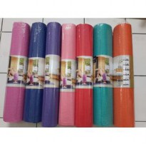 matras yoga mat 6mm tebal senam gym pilates