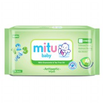 Mitu Baby Antiseptic Wipes 50 Sheets