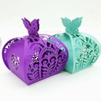 [globalbuy] 20pcs/set Multicolor Exquisite Hollow DIY Ferrero chocolate gift box candy box/3832183