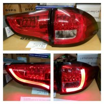 MB368-B7RE4 - STOP LAMP - RED CLEAR LED MITSUBISHI PAJERO SPORT 09-13