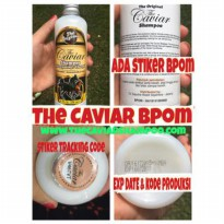 THE CAVIAR SHAMPOO ORIGINAL BPOM /NEW CAVIAR SHAMPO KUDA