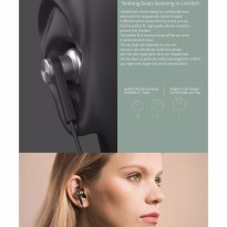 HEADSET HANDSFREE EARPHONE XIAOMI PISTON GEN IV 4 PRO OEM HYBRID DUAL
