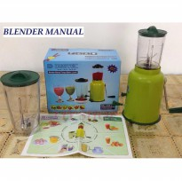Murah! Destec Blender Manual 2 Tabung |Spf:4323