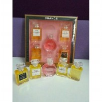 PARFUM CHANEL MINI ( 1 SET ISI 5 PC )