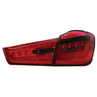 MITSUBISHI OUTLANDER TAIL LIGHT LED RED SMOKE