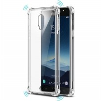 Samsung Galaxy J7 Plus / C8 Case Anti-Crack TPU Softcase (Clear)