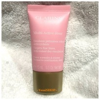 CLARINS MULTI-ACTIVE DAY CREAM TARGETS FINE LINES ANTIOXIDANT DAY EMULSION 15ML FOR NORMAL TO COMBINATION SKIN