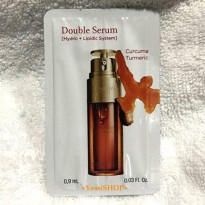 CLARINS DOUBLE SERUM COMPLETE AGE CONTROL CONCENTRATE 0.9ML SACHET NEW VERSION