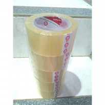 Lakban Bening Daimaru 48mm x 100Yard 1 Pack isi 5 Roll