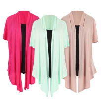 DECREE LADIES CARDIGAN WITH MOCK T-SHIRT 8 COLORS_VERY GOOD QUALITY / Ladies tshirt cardigan blouse wanita baju wanita