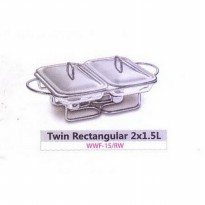 (Siap Kirim) Weston Twin Rectangular WWF-15/ RW (SKU:00138.00003)