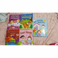 Ini Loh! Book Collection Press Out And Make Sticker Activity  Spf:4710