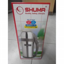 Ini Loh! Termos Stainless Steel Shuma 1.2 Lt (Hot & Cold) |Spf:4915