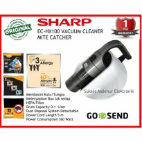 HARGA PROMO Sharp Vacuum Cleaner EC-HX100Y-S Mite Catcher