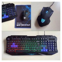 Keyboard & Mouse Gaming Rexus Warfaction