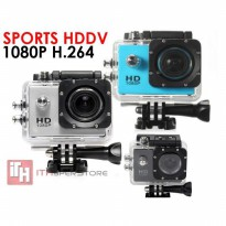Sports HD DV 1080P (30M Water Resistant )