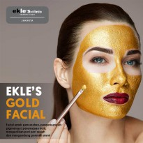 Ekles Clinic - Gold Facial