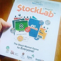 BOARD GAME STOCKLAB Stock Lab Ryan Filbert Nata Cen Bel