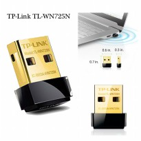 TP-Link TL-WN725N Wireless Nano USB WIFI Adapter Up to 150Mbps - Gold