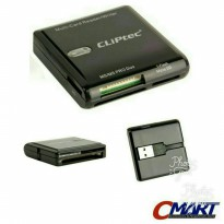CLIPTEC RZR362 USB 3.0 Card Reader All in 1 Multi Card Reader Panthera