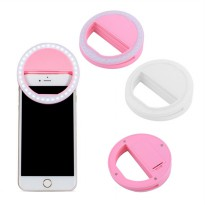 RECHARGEABLE selfie ring light - LAMPU BIGO