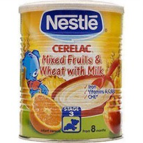 [poledit] Nestle Cerelac Mixed Fruits & Wheat w/ Milk (Stage 3) - 400g (T1)/12172562