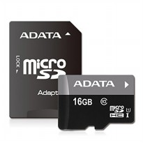 Adata Micro SD 16GB Class 10 UHs With Adapter