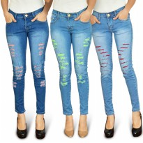 Jfashion Jeans Trendy model sobek