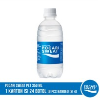 POCARI SWEAT PET 350 ml Banded 4 Botol (6 Pack)