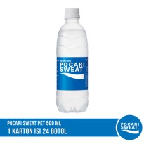 POCARI SWEAT PET 500 ml Karton Isi 24 Botol