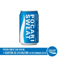POCARI SWEAT CAN 330 ml Banded 6 Kaleng (4 Pack)