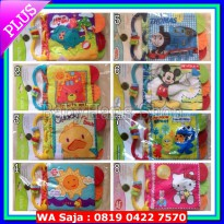 SALE Teether softbook / soft book / buku bantal