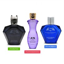 JUSTICE LEAGUE 100ML PARFUM EDT EDP PARFUM BATMAN PARFUM SUPERMAN PARFUM WONDER WOMAN made in France